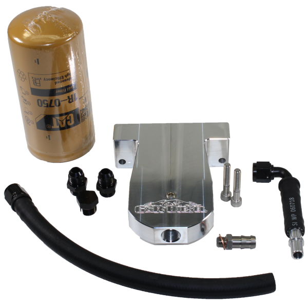 6.7 Cummins CAT Fuel Filter Conversion Kit